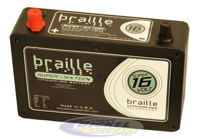 Braille Super 16 Volt Lithium Battery B168l Sd