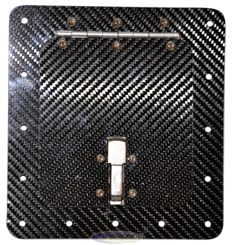 Fuel Access Door Surface Mount Carbon