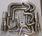 "Tek Headers Stainless Steel Under Car Header Kit (.049"" Wall Tubing)"