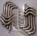 "Tek Headers Stainless Zoomie Kit (.065"" Wall Tubing)"
