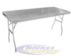 Large Aluminum Work Table 155
