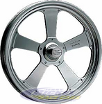 American Trakstar 15 X 3.5 Front Wheel Black Chrome (Anglia) AR48053ABC