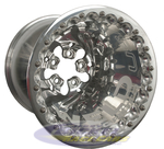 Weld Delta DBL Rear Wheels Pro Stock