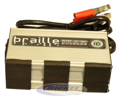 Braille Super 16 Volt Lithium Battery Charger BC16VL 2