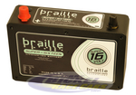 Braille Super 16 Volt Lithium Battery B168L-SD