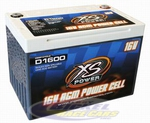 16 Volt XS Power AGM Battery D1600