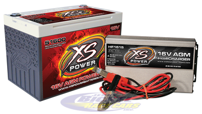 XS Power 16 Volt Battery S1600 Charger HF1615 Combo