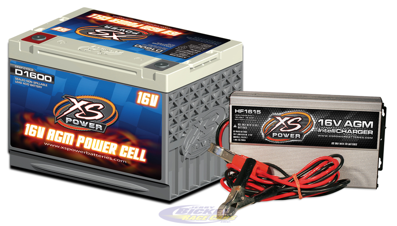 Xs Power 16 Volt Battery D1600 Charger Hf1615 Combo