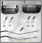 Firebird Outside Door Handle Kit JBRC2022B