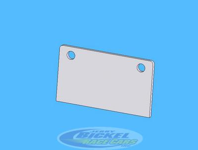 4130 Tab for C72-100 Series Bottle Mounts JB-349