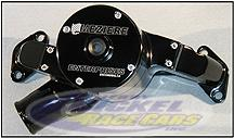 Meziere Aluminum Water Pump - GM Pro Stock Low Deck 500 CID MEZWP100S