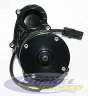 Meziere Aluminum Water Pump In-Line WP336 Single Outlet