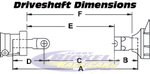 Driveshaft Dimension Chart