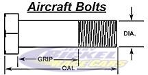 Aircraft Bolts Fas1306-12