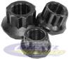 "12 pt Hardened Non-lock Nut (3/8"" x 24)"