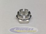 Billet Plated Spindle Nut