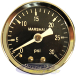 30 psi Fuel Pressure Gauge (dry)