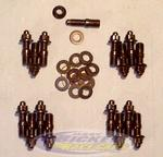 Header Studs 1001402 SBC (12 Studs, Wahsers and Nuts)
