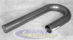 "Mild Steel Mandrel J Bends 2 3/8"" 12596"