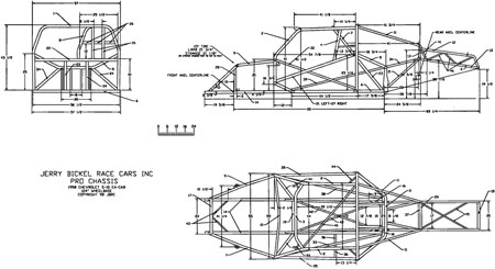 Top Drag Racing Chassis Builders For Tube Chassis Kits