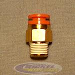 Male Connector 1/4NPT 3/8