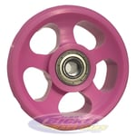 Pink Wheelie Bar Wheel = American Cancer Society Donation