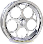 Magnum Drag 2.0 1-Piece Front Wheels 786-15001P