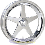 Aluma Star 2.0 1-Piece Front Wheels 788-15000