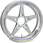 Aluma Star 2.0 1-Piece Front Wheels 788-15204